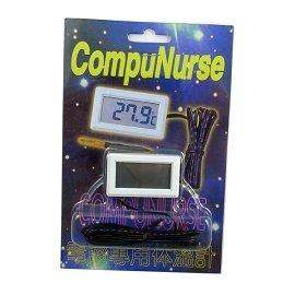 ~電子 ~Compunurse PC~35 LCD 電腦用溫度錶頭  外接感溫線 0~90