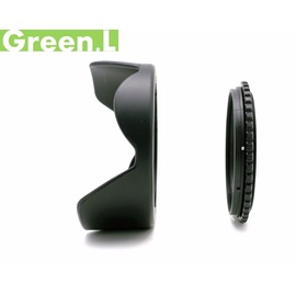 又敗家@可反接反蓋Green.L兩件式55mm遮光罩, 轉接座+花瓣太陽罩Minolta MD MC Rokkor-PG 45mm 50mm 55mm 1.4 1.7 28mm...