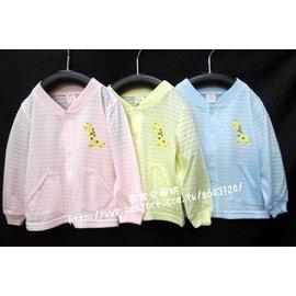 幼兒   抽紗涼感小外套 /  薄棉外套 /  防曬外套 (藍/ 粉/ 黃色) - 台灣製造