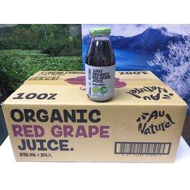 可美特有機紅葡萄汁295ml*24瓶/箱