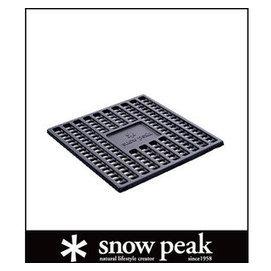 ├登山樂┤日本Snow Peak焚火台- M炭床 # ST-033S