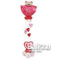【氣球先生】愛情空飄外送-熊抱心