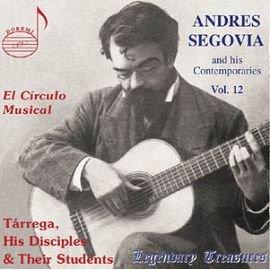DOREMI DHR7996 塞戈維亞吉他名曲 十二 Segovia  His Conte