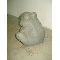 仿石雕噴水青蛙造型擺飾(FPR材質)