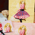 Barbie芭比-花卉芭比洗臉巾(1入)