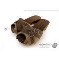 ◎g-shoes木鞋工坊 ◎D48012-3魚口包鞋超口愛厚底木屐(吸濕排汗)