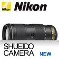集英堂写真機【全國免運】NIKON NIKKOR AF-S 70-200mm F4 G ED VR 變焦望遠鏡 平行輸入 / 一年保固