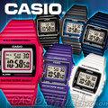 CASIO 時計屋 卡西歐手錶 W-215H -1A/ 8A / 7A  男錶 電子錶 橡膠錶帶 LED照明 鬧鈴