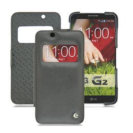 NOREVE LG G2 D802 視窗皮套 保護殼 保護套 手工訂製 法國頂級手機皮套 推薦