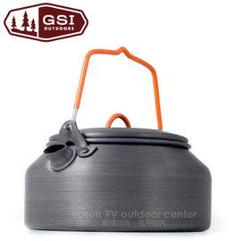 ~美國 GSI~Tea Kettle HAE 1L 鋁合金茶壺.開水壺 超硬陽極處理.輕盈