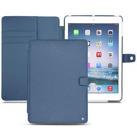 「iPad Air」蘋果 Apple iPad Air 筆記本式保護套 真皮皮套 休眠 手工訂製 法國NOREVE皮套 靛藍色 專賣店 推薦