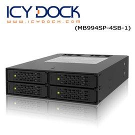 ICY DOCK MB994SP-4SB-1 2.5吋SATA 硬碟抽取模組