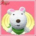 ★圍巾兔立體造型蛋糕(8吋)G055