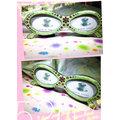 ☆★Miss Hotties☆★貓眼女飾眼鏡水鑽相框