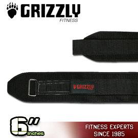 加拿大Grizzly Fitness寬版6吋 可水洗 舉重健身腰帶~Bear Hugger