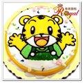 ★俏虎平面造型蛋糕(8吋)F026