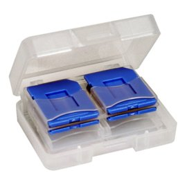 DigiStone SD SDHC MircoSD 炫彩記憶卡收納盒 8片裝 - 藍色