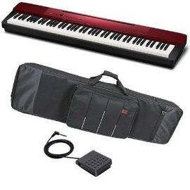[福爾摩沙樂器] CASIO PX-A100 限量金屬紅 88鍵 電鋼琴