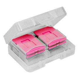 DigiStone SD SDHC MircoSD 炫彩記憶卡收納盒 8片裝 - 粉色