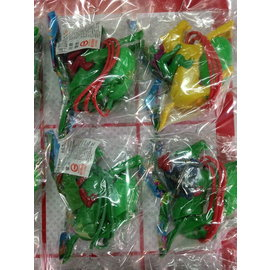 sns 古早味 懷舊童玩 跳馬 玩具跳馬 塑膠跳馬(12個 / 組)