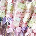 *幸福朵朵*╯【婚禮小物-小熊花園棉花糖100枝】-送客禮/活動禮/婚禮小物(若須小卡另加3元-請來電或留言訂購)
