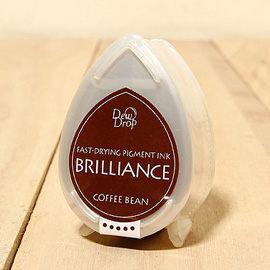 Brilliance珠光印泥#54咖啡豆 ~ 來自印台界Tsukineko月貓印台的