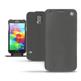 「Samsung Galaxy S5」 三星S5 Samsung Galaxy S5 下掀式 皮套 保護殼 保護套 手機套 手工訂製 法國NOREVE頂級手機皮套 腰掛