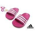 【現貨】ADIDAS拖鞋 經典款 防水超輕量 足弓舒適 LOGO拖鞋 H9343#桃紅 ◆OSOME奧森童鞋