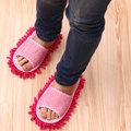 可拆式擦地拖鞋(1雙) / 懶人拖鞋 / 可拆洗拖地拖鞋
