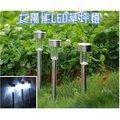 【ShangCheng】免插電 太陽能 LED 庭園燈 草坪燈 防水 加強型 1顆LED 戶外景觀燈 充電 裝飾燈 景觀燈 步道燈 C-0065