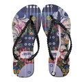 QWQ創意設計人字拖鞋R010-玹的律動-B-黑