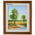 風景畫-ma33(羅丹畫廊)含框45X55公分(100%手繪)