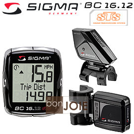 ::bonJOIE:: 德國進口 Sigma Sport BC 16.12 STS CAD + Cadence Cycle Compute 碼錶 (全新盒裝) BC16.12