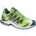 Salomon XA Pro 3D Ultra 2 GTX 越野跑鞋 野跑鞋 男 螢綠/白#356817/UK9號)