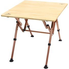 【台灣黑熊】GoSport  92490小竹板桌 70x65cm