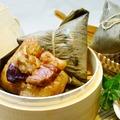 竹南懷舊肉粽-黃金鮮魷粽5粒裝