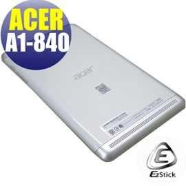 【EZstick】ACER Iconia Tab 8 A1-840 專用 二代透氣機身保護貼(平板機身背貼)DIY 包膜