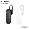SONY MBH20 藍芽耳機/可聽音樂/耳掛式/單聲道/藍芽 3.0/ 一對二 /手機/平板電腦/神腦公司貨