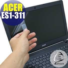 【EZstick】ACER Aspire E13 ES1-311 專用 靜電式筆電LCD液晶螢幕貼 (可選鏡面或霧面)