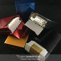金屬鋁製 滑蓋 自動 菸盒 / 香煙盒 / 名片盒 ( 媲美 zippo 煙盒 / 菸盒 ) 雪狼 款