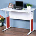 《Homelike》巧思辦公桌-100cm加厚桌面 工作桌 書桌 電腦桌(多款搭配)
