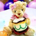 生日熊布偶