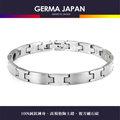 GERMA JAPAN【鐳H】陶土鍺複方礦石純鈦手鍊 GR011