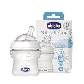 Chicco 天然母感 2倍防脹PP奶瓶小單孔 一般流量  150ML ~本月 ~