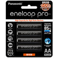 【 大林電子 】 Panasonic 國際牌 eneloop pro 低自放電3號鎳氫充電電池 4入裝 BK3HCCE4BTW (日本製)