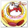 ★可愛馬平面造型蛋糕(8吋)F061