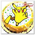 ★皮癢丘平面造型蛋糕(8吋)F127