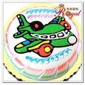 ★飛機平面造型蛋糕(8吋)F135