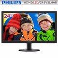 【全新附發票】PHILIPS 243V5LHAB 24型LED寬螢幕【超頻電腦】A19