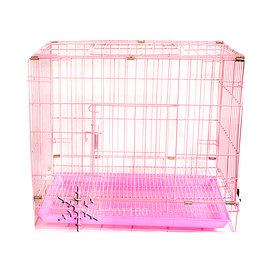 2呎魔力紅貓狗籠粉紅色